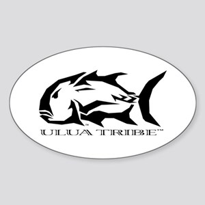 Ulua Tribe Sticker (Oval)