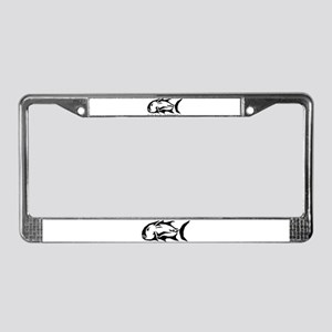 Ulua Tribe License Plate Frame