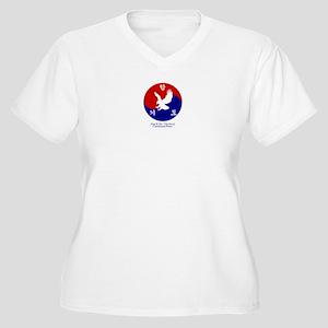 HapKiDo Expert Women's Plus Size V-Neck T-Shirt