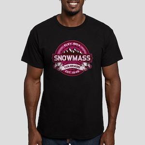 Snowmass Raspberry Men's Fitted T-Shirt (dark)
