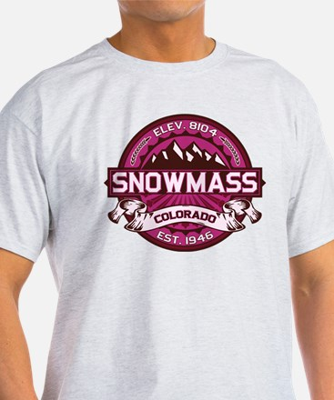 Snowmass Raspberry T-Shirt