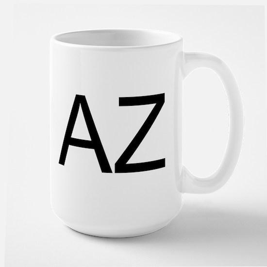 AZ - ARIZONA Large Mug