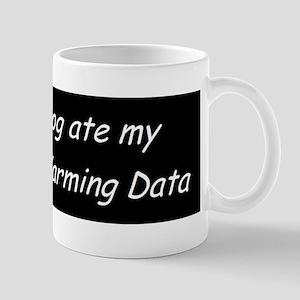 Gobal Warming Data Mug