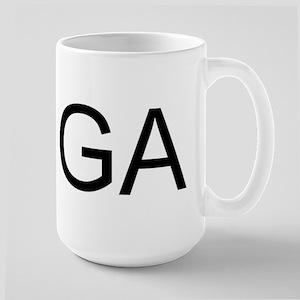 GA - GEORGIA Large Mug