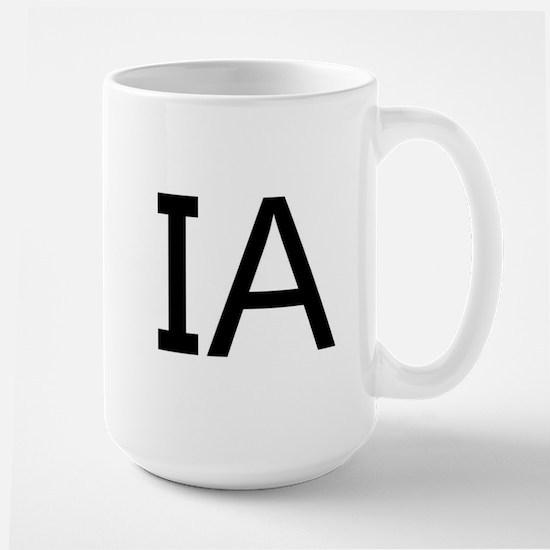 IA - IOWA Large Mug