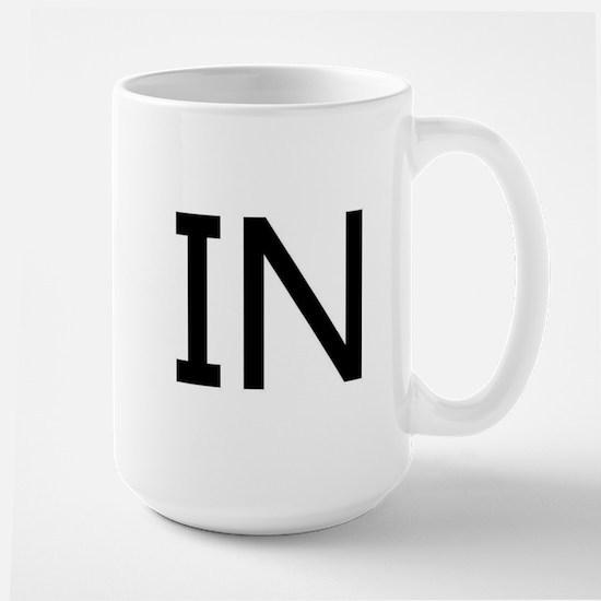 IN - INDIANA Large Mug