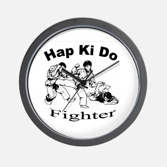 HapKiDo Fighter Wall Clock