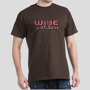 Wine Goddess Black T-Shirt
