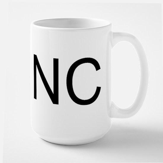 NC - NORTH CAROLINA Large Mug