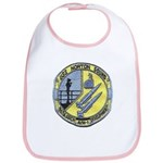 USS NORTON SOUND Cotton Baby Bib