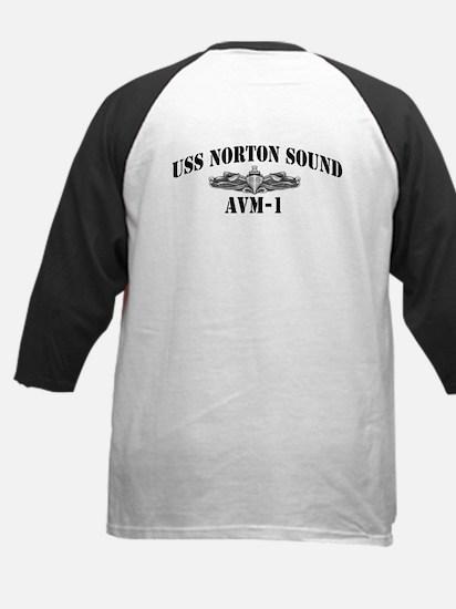 USS NORTON SOUND Kids Baseball Jersey