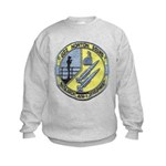 USS NORTON SOUND Kids Sweatshirt
