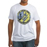 USS NORTON SOUND Fitted T-Shirt