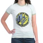 USS NORTON SOUND Jr. Ringer T-Shirt