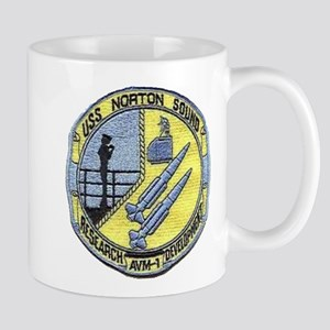 USS NORTON SOUND 11 oz Ceramic Mug