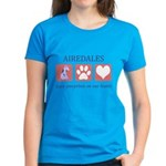 Airedale Terrier Lover Women's Dark T-Shirt