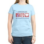 Airedale Terrier Lover Women's Light T-Shirt