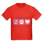 Airedale Terrier Lover Kids Dark T-Shirt