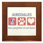 Airedale Terrier Lover Framed Tile