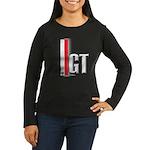 GT Red White Women's Long Sleeve Dark T-Shirt