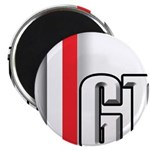 GT Red White Magnet