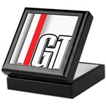 GT Red White Keepsake Box