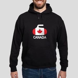 Canada Curling 2 Hoodie (dark)
