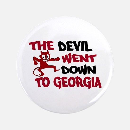 "The Devil Went Down to Georgi 3.5"" Button"