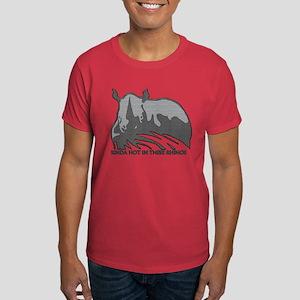 Rhinos Are Hot Dark T-Shirt