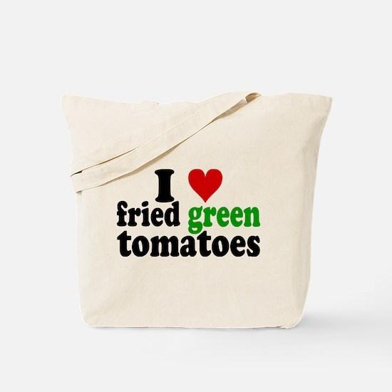 I Heart Fried Green Tomatoes Tote Bag