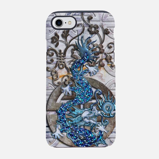 Harvest Moons Lapis Dragon iPhone 7 Tough Case