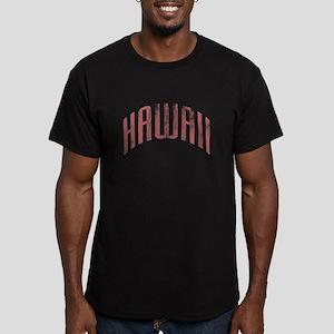 Hawaii Grunge Men's Fitted T-Shirt (dark)