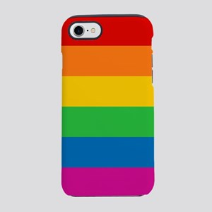 RAINBOW-9x9 iPhone 7 Tough Case