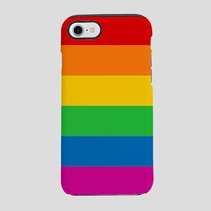 RAINBOW-9x9 iPhone 7 Tough Case
