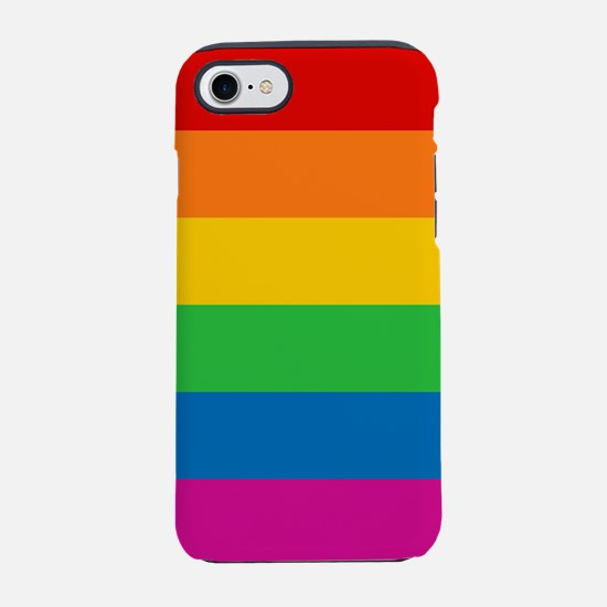 RAINBOW-9x9.png iPhone 7 Tough Case