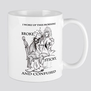 Broke Sticky, and Confused Mug