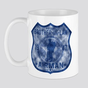 Proud Brother-in-law - Airman Badge Mug