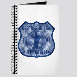 Proud Brother-in-law - Airman Badge Journal