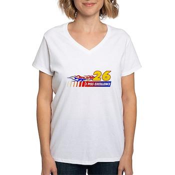 I Piss Excellence Women's V-Neck T-Shirt