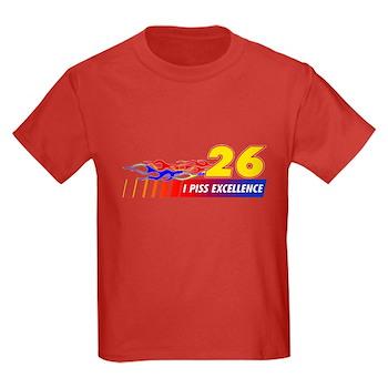 I Piss Excellence Kids Dark T-Shirt