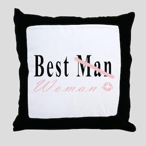 Best Woman Throw Pillow