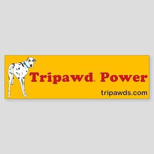 Tripawd Power Sticker (Bumper)