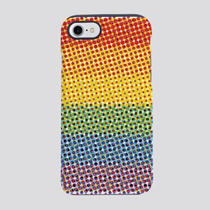 Pop Art LGBT Pride Flag iPhone 7 Tough Case