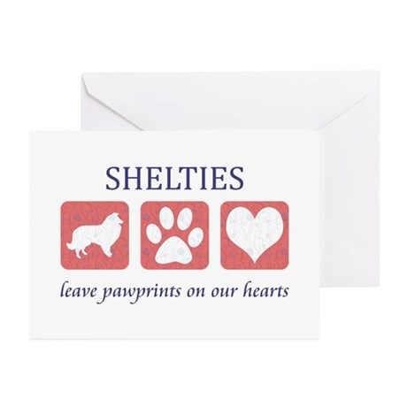 Sheltie Lover Gifts Greeting Cards (Pk of 10)