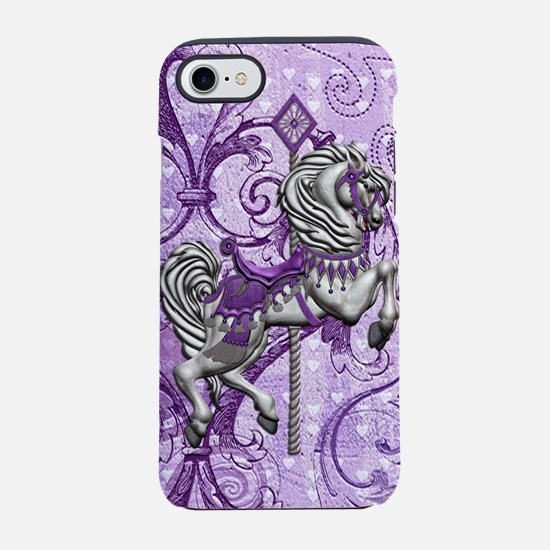 Harvest Moons Victorian Carousel iPhone 7 Tough Ca