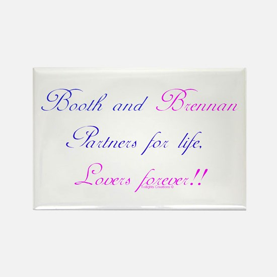 BoothBrennan4Life Rectangle Magnet