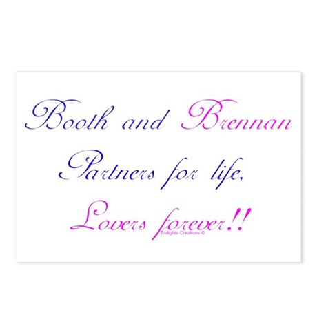 BoothBrennan4Life Postcards (Package of 8)