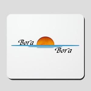 Bora Bora Sunset Mousepad