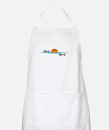 Bora Bora Sunset Apron
