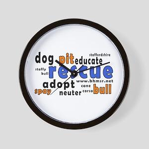 Rescue Wording - Wall Clock